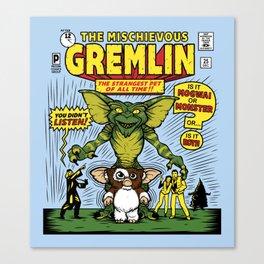 The Mischievous Gremlin Canvas Print