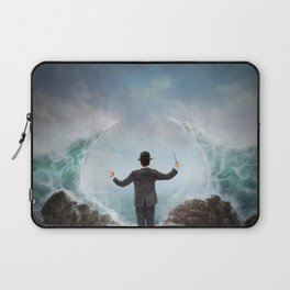 The Sea Conductor Laptop Sleeve