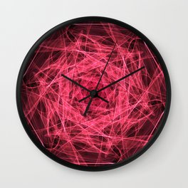 A study in pink 26 Wall Clock