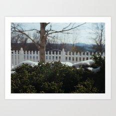 Appalachian Winter Art Print