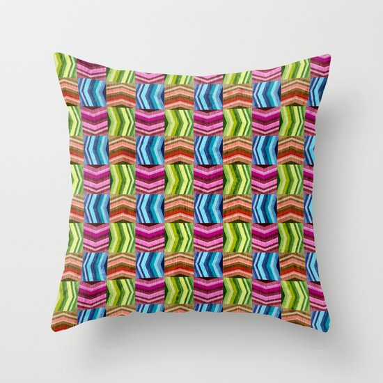 Left, Right, Up, Down Throw Pillow