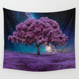 Galaxy Tree Wall Tapestry
