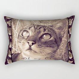 Oh my Cat! Rectangular Pillow
