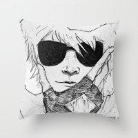 homestuck Throw Pillows featuring Dave Strider // Homestuck by BucketsofBroke