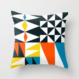 Mid Century 02 Throw Pillow