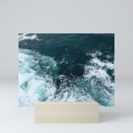 Water (Ocean Waves) Mini Art Print