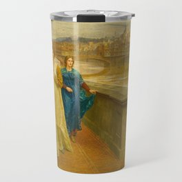 Henry Holiday - Dante And Beatrice Travel Mug