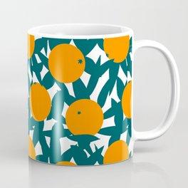 Art Deco Minimalist Orange Grove Coffee Mug