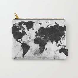 world map marble 3 Carry-All Pouch