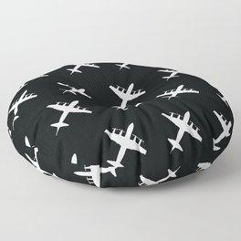 P-3 Orion Anti-Submarine and Maritime Surveillance Patrol Aircraft Floor Pillow