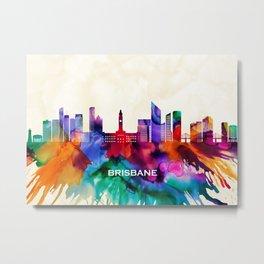 Brisbane Skyline Metal Print