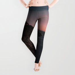 Big Sur Sunset Leggings