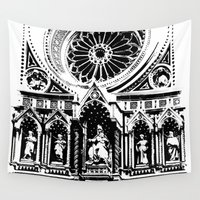 florence Wall Tapestries featuring Florence by Mad Love