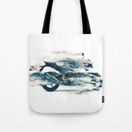 Dynamic motorcycle Tote Bag