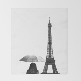 Parapluie  Throw Blanket