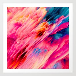 Shamanic Ecstasy Art Print