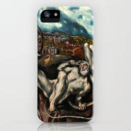 """El Greco (Domenikos Theotokopoulos) """"Laocoön"""" iPhone Case"""