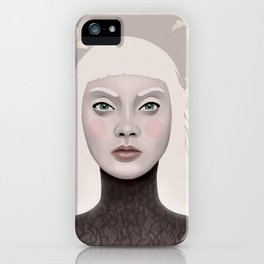 Delicate souls iPhone Case