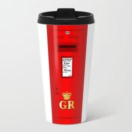 Traditional British  Georges Reign Postbox Travel Mug