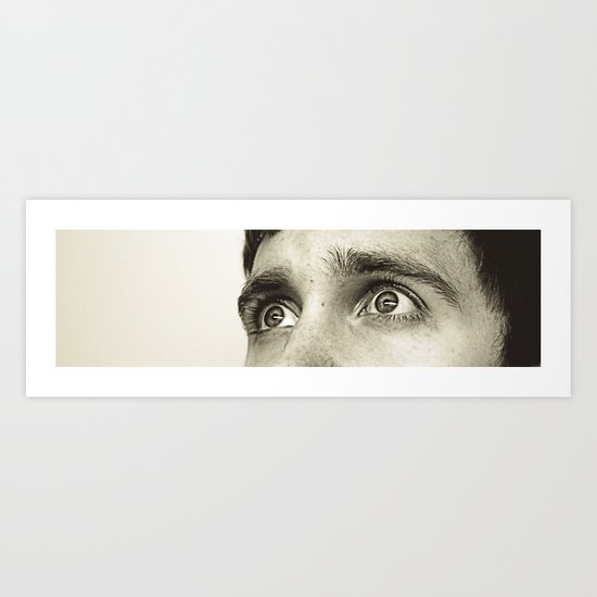 fright Art Print