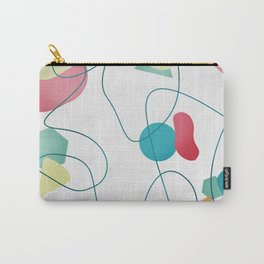 Geometric Miró Pattern Carry-All Pouch