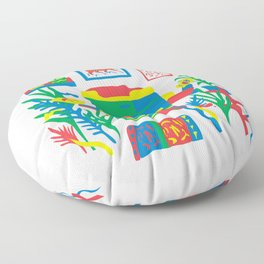 Risograph studio Floor Pillow