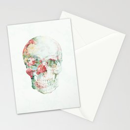 Skull Bouquet Stationery Cards