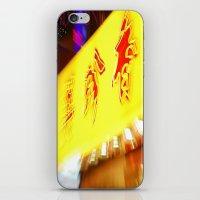 hong kong iPhone & iPod Skins featuring hong kong by David Stone