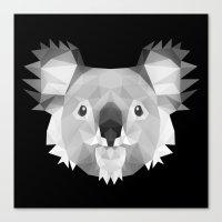 koala Canvas Prints featuring Koala by Taranta Babu