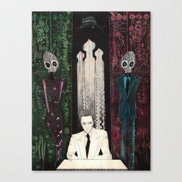 The comfort of strangers Canvas Print