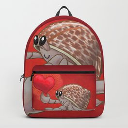 Hermit Crab Love! or Lopsided Claws, Lopsided Heart! Backpack