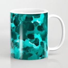 Clear Blue Fluidity Coffee Mug