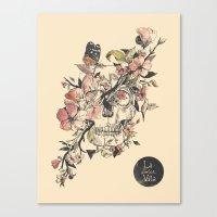 la Canvas Prints featuring La Dolce Vita by Norman Duenas
