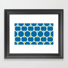 Modern Circles Framed Art Print