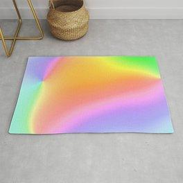 Bright Prismatic Rainbow Design! Rug