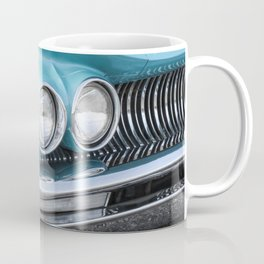 Vintage Car Photography | Turquoise Bedroom Art Coffee Mug