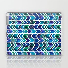 Turquoise and Green Aztec Pattern. Laptop & iPad Skin