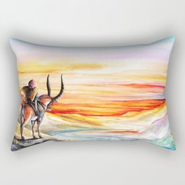 """""""Sunset"""" Rectangular Pillow"""