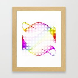 abstract colorful tamplate Framed Art Print