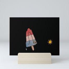 Rocket Pop Mini Art Print