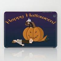 hobbit iPad Cases featuring Hobbit Halloween by wolfanita