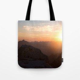 South Rim Sunrise Tote Bag