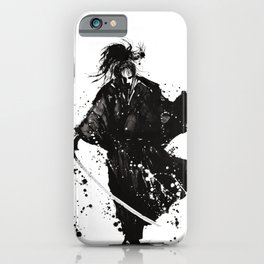 Samurai ronin iPhone Case