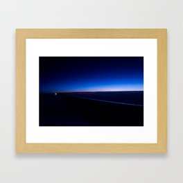 A Spec of morning Framed Art Print