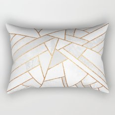 White Night Rectangular Pillow