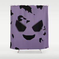 ghost Shower Curtains featuring GHOST by Caio Trindade