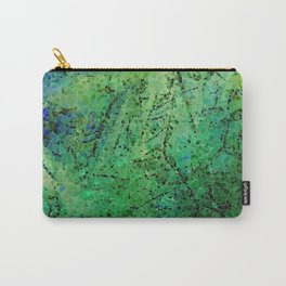 life in colors - blue and green Carry-All Pouch