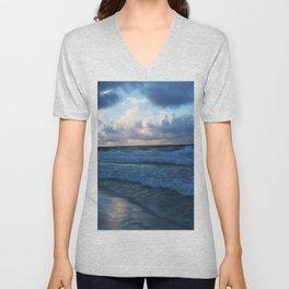 Gulf Shore Sunrise Unisex V-Neck