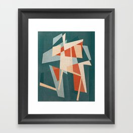 Run, Forrest, Run Framed Art Print