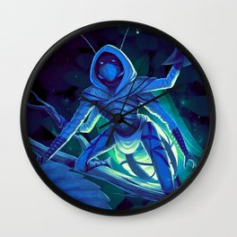 Lumi, the Firefly Scout Wall Clock